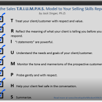 Add the Sales TRIUMPHS Model to Your Selling Skills Repertoire