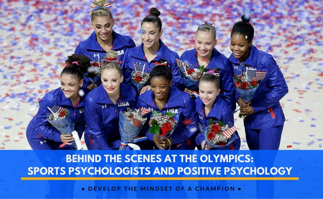 Behind the Scenes at the Olympics: Sports Psychologists and Positive Psychology